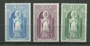 1961 Ireland St Patrick C/S of 3 MH