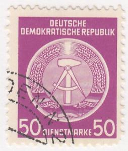 Germany - DR, Scott # O14, Used, 1954