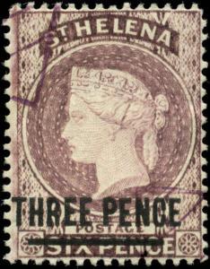 Saint Helena Scott #37 Used