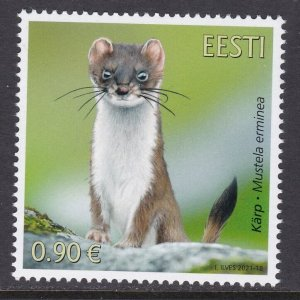 Estonia, Fauna, Animals MNH / 2021