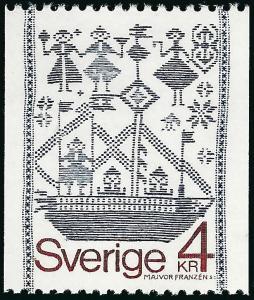 Sweden Vibrant & Attractive Sc #1276 Mint NH VF Cat $1.65