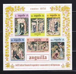 Anguilla 258a Imperf Set MNH Easter