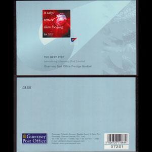 GUERNSEY 2001 - Scott# 749A Booklet-Nature NH