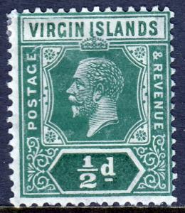 Virgin Islands - Scott #47 - MH - Indentation UL - SCV $8.50