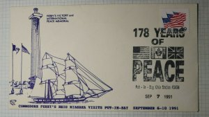 Commodore Perry's Victory & Intl Peace Memorial 178 Yrs of  Peace 1991