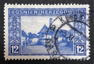 AlexStamps BOSNIA & HERZEGOVINA #62 VF Used