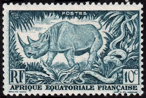 French Equatorial Africa - Scott 166 - Mint-Hinged