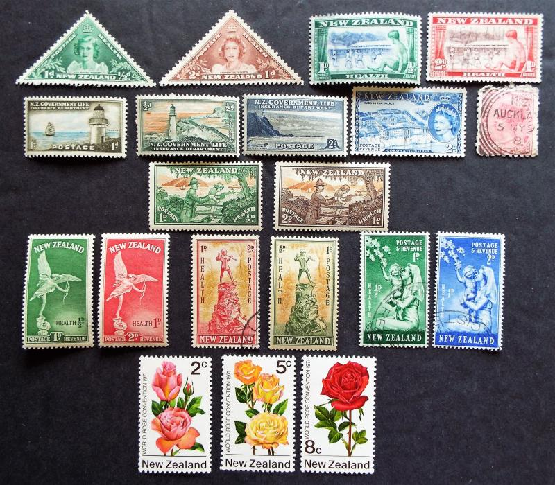 New Zealand Stamps with BOB
