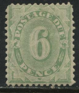 Australia 1907 6d Postage Due mint o.g.