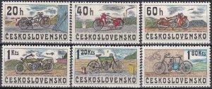Czechoslovakia #2018-23  MNH CV $2.65  (Z6344)