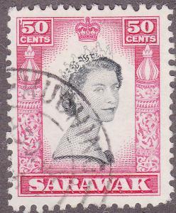 Sarawak 208 USED 1955 Elizabeth II