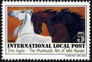 Phuntastic Art of Miki Harder (#5) Intl. Local Post Stamp