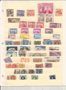 VENEZUELA COLLECTION ON STOCK SHEET, MINT/USED
