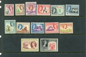 Southern Rhodesia #81-94 Complete Set - Mint Lightly Hinged