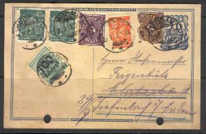Germany - Reich - Postcard - Mudau Cancellation