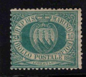 San Marino Scott 8 MH* 1892 stamp