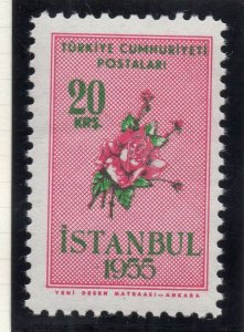 Turkey 1955 Early Issue Fine Mint Hinged 20k. NW-18219