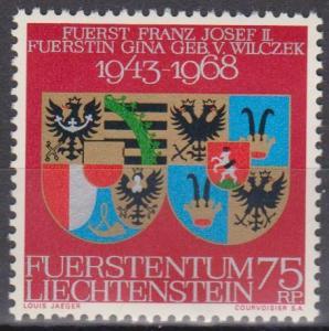 Liechtenstein #446 MNH VF (A5859)