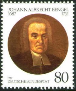 Germany Scott 1509 MNH** 1987 Bengel stamp