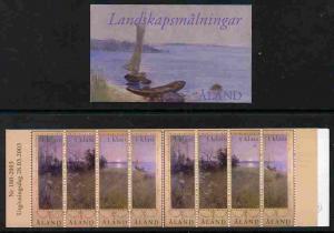 Booklet - Aland Islands 2003 Landscapes in Summer 5.50 Eu...