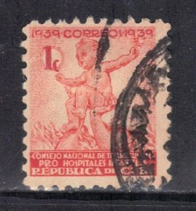 CUBA SC# RA2  **USED** 1939  1c      SEE SCAN