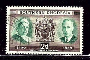 Southern Rhodesia 73 Used 1950 issue    (ap3123)