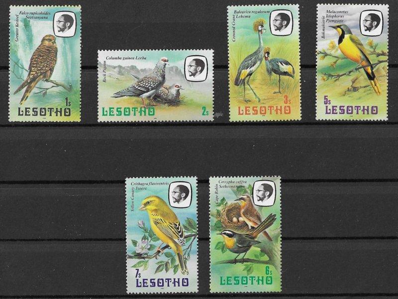 Lesotho MNH Gorgeous Birds