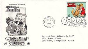 1995, Classic Comic Strip-Little Orphan Annie, Artcraft/PCS, FDC (E8984)