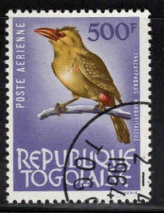 TOGO Scott C40 used Bird stamp