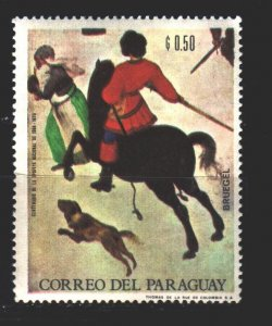 Paraguay. 1968. 1819 from the series. Painting, paintings. MNH.