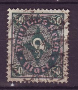 J8388 JL stamps @20% 1921-2 germany used #184 $1.50v wmk 126