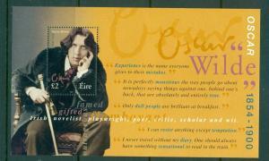 Ireland - Sc# 1137. 2000 Oscar Wilde Souvenir Sheet. MNH $6.50.