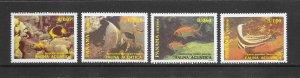 FISH - PANAMA #748-51   MNH