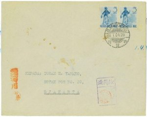 93722 - DUTCH INDIES Indonesia - POSTAL HISTORY -  COVER with JAPANESE CENSOR