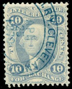 momen: US Stamps #R35e Used Revenue