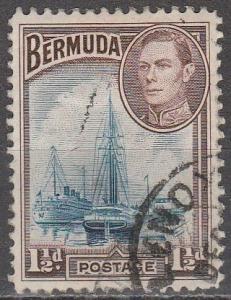 Bermuda #119 F-VF Used  (S953)
