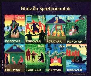 Faroe Islands 2009 #510 MNH. Folklore