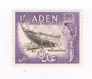 Aden Boat 1 - pickastamp (AA0016)