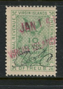 Virgin Islands Revenue Barefoot #34 Used