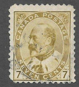 Canada (1903) - Scott # 92,   Used