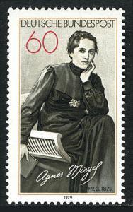 Germany 1287, MNH. Agnes Miegel, poet, 1979