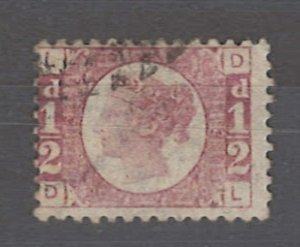 COLLECTION LOT # 3237 GB #58plate12 1870 CV=$22