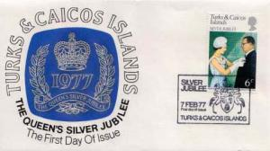 Turks & Caicos Is., First Day Cover, Royalty