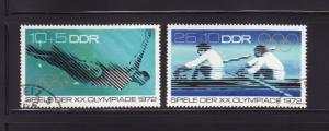 Germany DDR B166-B167 Set U Sports, Olympics