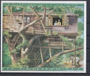KENYA  1977  SILVER JUBILEE  MINI SHEET  MNH