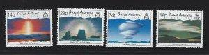 British Antarctic Territory mnh S.C.#  198 - 201