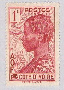 Ivory Coast 112 Used Bacule Woman 1936 (BP37119)