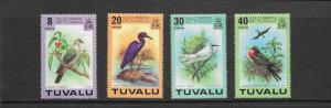 BIRDS - TUVALU #73-76  MNH