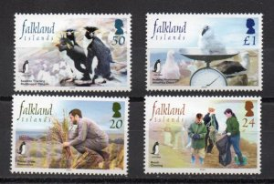 Falkland Islands 858-861 MNH
