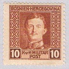 Bosnia and Herzegovina 108 MNH Karl I 1917 (BP38028)